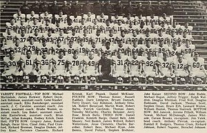 1968 Illinois Fighting Illini football team - Image: 1968 Illinois Fighting Illini football team