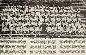 1968 Illinois Fighting Illini football team - Image: 1968 Illinois Fighting Illini football team