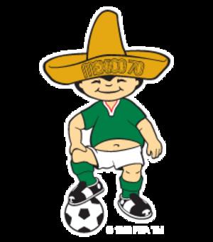 FIFA World Cup mascot - Image: 1970 FIFA World Cup mascot