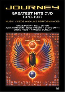 <i>Greatest Hits 1978–1997</i> 2003 Journey music-video DVD