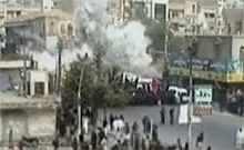 The exact moment of the 2009 Karachi bombing