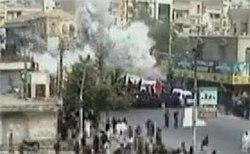 The exact moment of the 2009 Karachi bombing