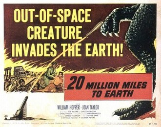 20 Million Miles to Earth - 50th Anniversary DVD cover