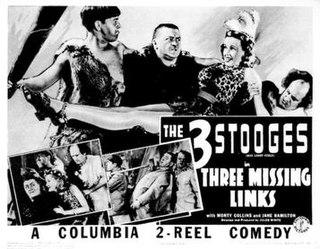 <i>Three Missing Links</i> 1938 film by Jules White