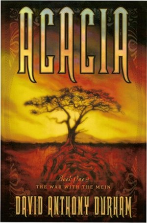 Acacia: The War with the Mein - Cover of first edition (hardcover)
