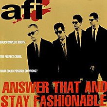 AFI - Answer That and Stay Fashionable cover.jpg
