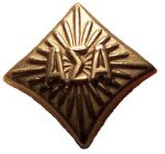 Alpha Sigma Alpha - The new member pin