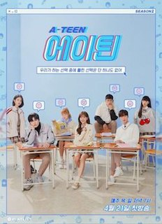 <i>A-Teen 2</i> South Korean web series