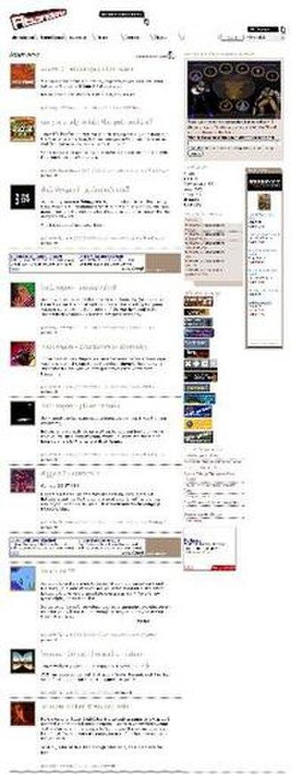 Abandonia - Image: Abandonia title page screen shot