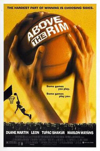Above the Rim - Theatrical release poster