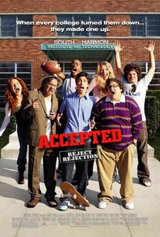 Accepted - Theatrical release poster