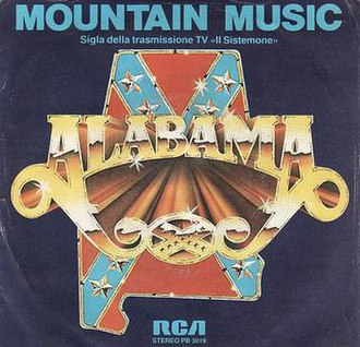 Mountain Music (song) - Image: Alabama Mountain Music single