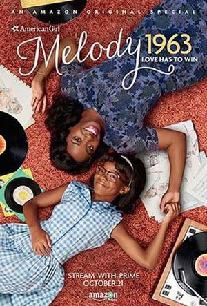 An American Girl Story – Melody 1963: Love Has to Win - Promo poster