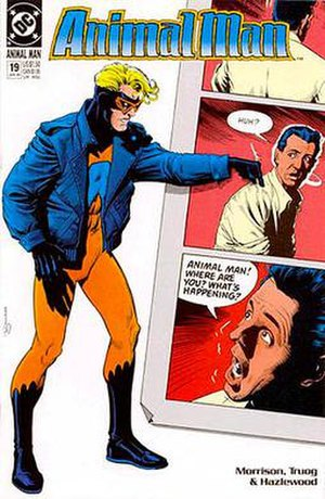 Animal Man (comic book) - Image: Animal man 19