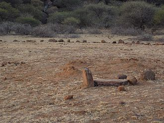 Molepolole - Image: Archaeological Site at Ntsweng