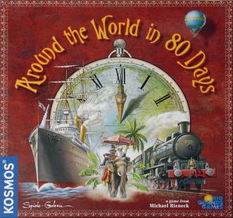 Around the World in 80 Days (board game) - Image: Around the world game