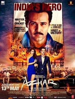 <i>Azhar</i> (film) 2016 film by Tony DSouza