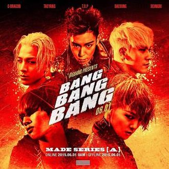 Big Bang — Bang Bang Bang (studio acapella)