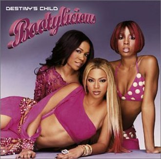Bootylicious - Image: Bootylicious CD Cover