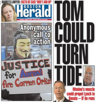 Boston Herald - Image: Boston Herald (cover)
