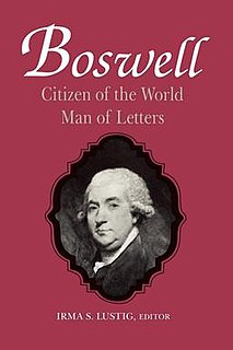 <i>Boswell: Citizen of the World, Man of Letters</i> 1995 collection of essays on John Boswell