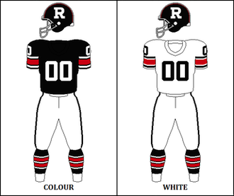 1974 Ottawa Rough Riders season - Image: CFL OTT Jersey 1974