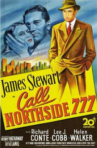Call Northside 777 - Theatrical release poster