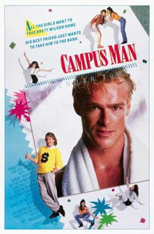 Campus Man - Theatrical release poster