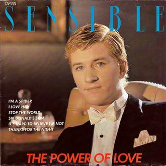 The Power of Love (Captain Sensible album) - Image: Captain Sensible The Power of Love