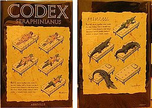 Codex Seraphinianus - Cover of Abbeville edition