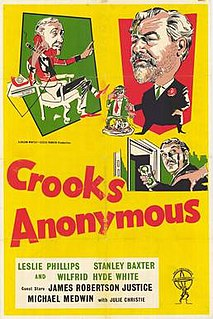 <i>Crooks Anonymous</i> 1962 film