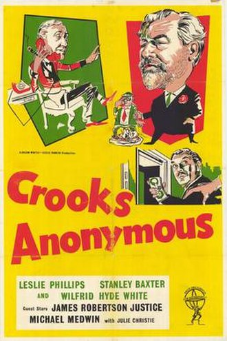 Crooks Anonymous - Film poster
