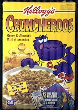 Cruncheroos - Image: Cruncheroos Honey and Almonds Box