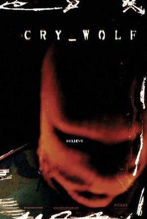 Cry Wolf (2005 film) - Theatrical release poster