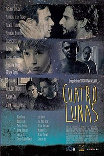 <i>Four Moons</i> 2014 film by Sergio Tovar Velarde
