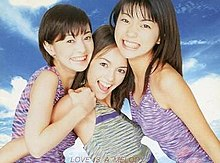 D&D on the cover of their album Love Is a Melody (1998) From left: Chika, Olivia, Aya