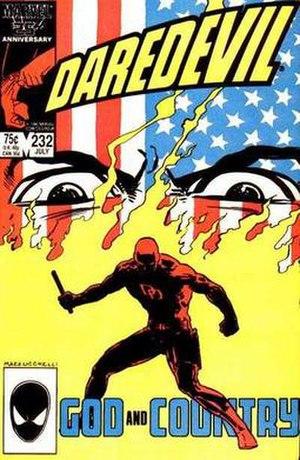 Nuke (Marvel Comics) - Image: Daredevil 232Nuke