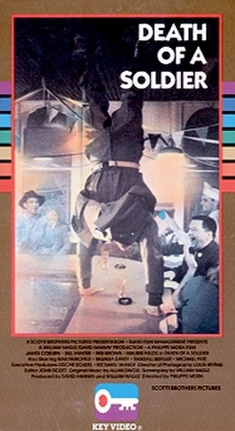 Death of a Soldier - VHS cover