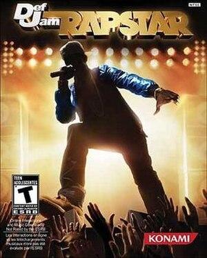 Def Jam Rapstar - Image: Def Jam Rapstar Game Cover