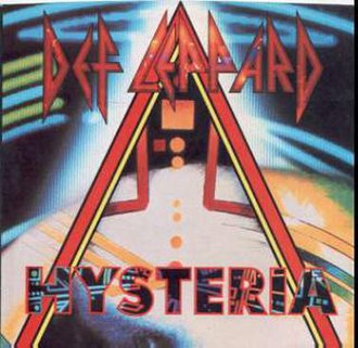 Hysteria (Def Leppard song) - Image: Def Leppard hysteria single 2