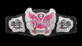 WWE Divas Championship - The WWE Divas Championship belt (August 2014–April 2016)