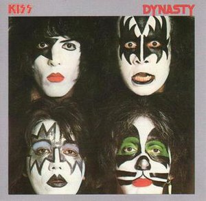 Dynasty (Kiss album) - Image: Dynasty (album) cover