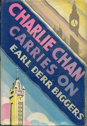 Charlie Chan Carries On - Early hardback edition cover