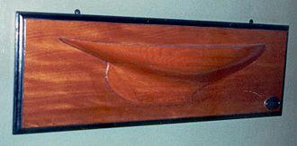 Alexander Robertson & Sons - Half-hull model of Elrhuna
