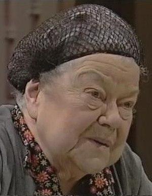 Violet Carson - Image: Ena Sharples 1980