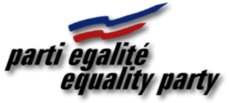 Equality Party (Quebec) - Image: Equality Party Logo