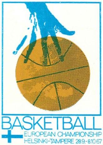 EuroBasket 1967 - Image: Euro Basket 1967 logo