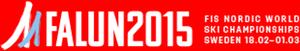 FIS Nordic World Ski Championships 2015 - Image: FIS Nordic WSC 2015 logo