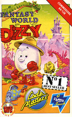 Fantasy World Dizzy - Art recycled for the North American release of Fantastic Dizzy.