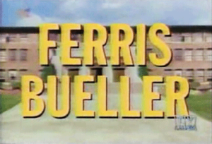Ferris Bueller (TV series) - Opening title sequence
